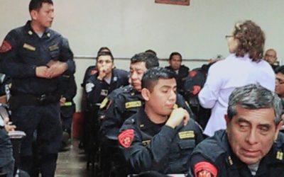AGENTES PNP DE LA DIVISIÓN DEL ESCUADRÓN DE EMERGENCIAS FUERON CAPACITADOS SOBRE LOS SERVICIOS DE SALUDPOL