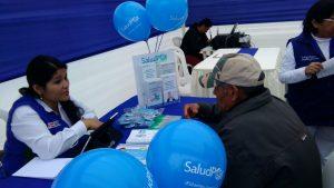SALUDPOL BRINDÓ INFORMACIÓN DE SERVICIOS A BENEFICIARIOS EN FERIA