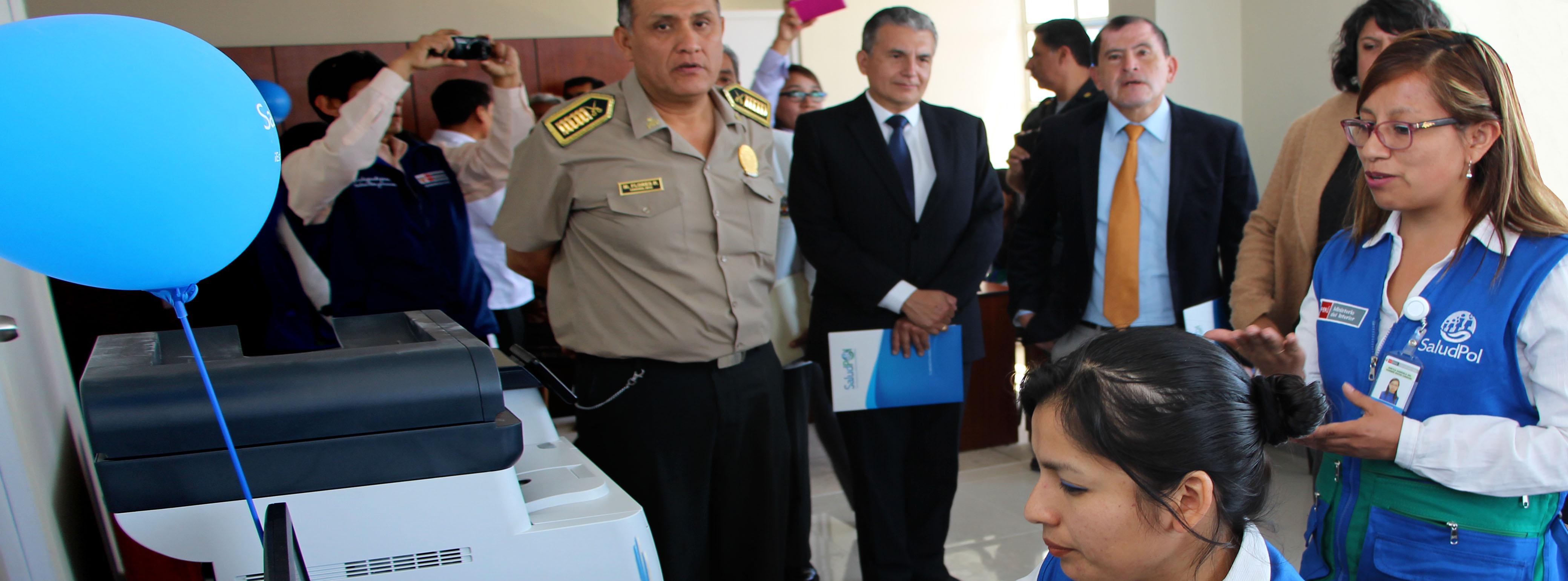 SALUDPOL INAUGURA NUEVA OFICINA PARA ATENCIÓN DE FAMILIA POLICIAL EN AREQUIPA