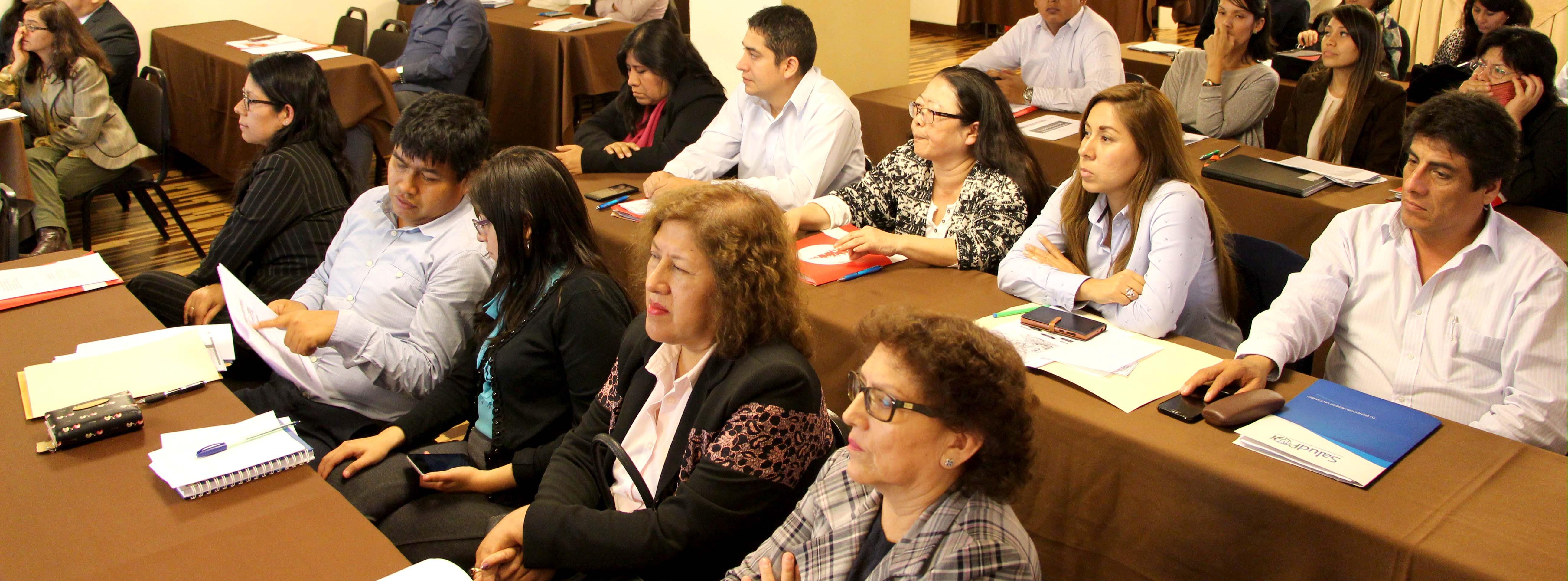 SERVIDORES DE SALUDPOL RECIBIERON CURSO DE CONTROL INTERNO EN LAS ORGANIZACIONES GUBERNAMENTALES