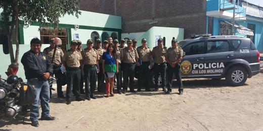FAMILIA POLICIAL IQUEÑA RECIBIÓ INFORMACIÓN DE SERVICIOS DE SALUDPOL