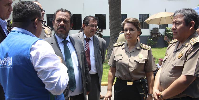 GERENTE GENERAL DE SALUDPOL SE REUNIÓ CON DIRECTOR DE HOSPITAL PNP LUIS N. SÁENZ