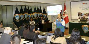 SALUDPOL OFRECIÓ CHARLA INFORMATIVA A EFECTIVOS POLICIALES DE LA DIRANDRO