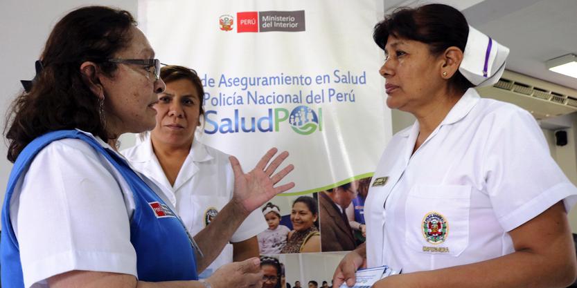SALUDPOL TRANSFIRIÓ MÁS DE 113 MILLONES DE SOLES A LA DIRECCIÓN DE SANIDAD POLICIAL DIRSAPOL